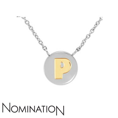 Nomination My Bon Bons Letter P Necklace  - Click to view larger image