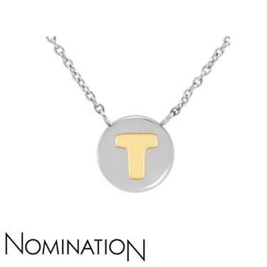 Nomination My Bon Bons Letter T Necklace  - Click to view larger image