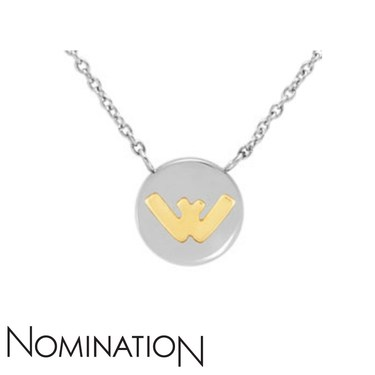 Nomination My Bon Bons Letter W Necklace  - Click to view larger image