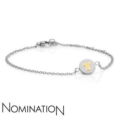 Nomination My Bon Bons Letter Y Bracelet  - Click to view larger image