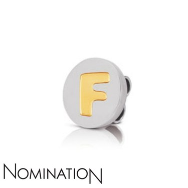 Nomination My Bon Bons Letter F Charm  - Click to view larger image