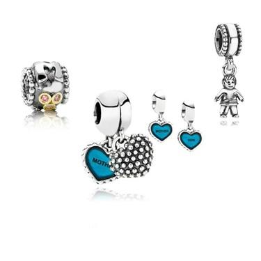 Pandora Mother & Son Gift Set