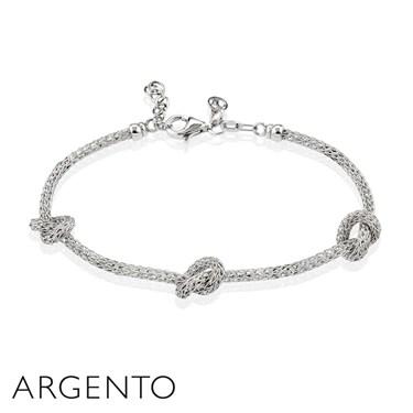 Argento Knotted Bracelet