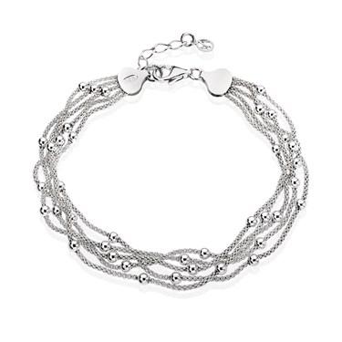 Argento Layered Beaded Bracelet