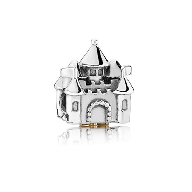 Pandora Castle & Crown Charm  - Click to view larger image