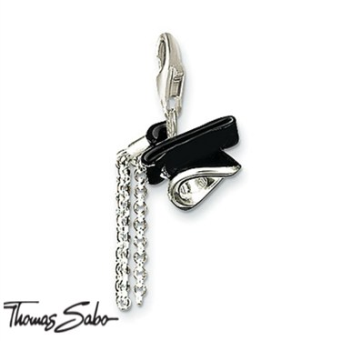 Thomas Sabo Graduation Cap Charm  - Click to view larger image