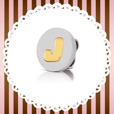 Nomination My Bon Bons J Cord Charm  - Click to view larger image