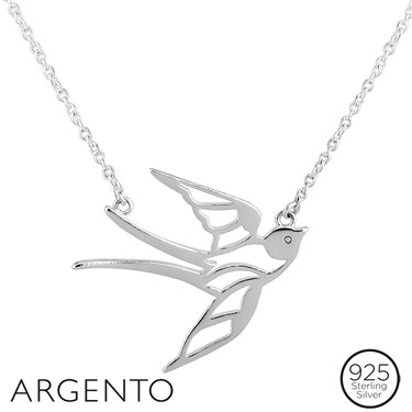 Argento Swallow Necklace