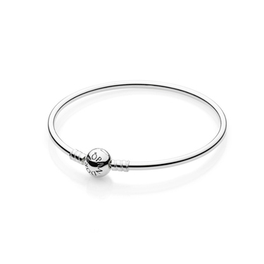 Pandora Silver Bangle  - Click to view larger image