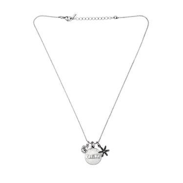 Karma Silver Peace Coin Necklace