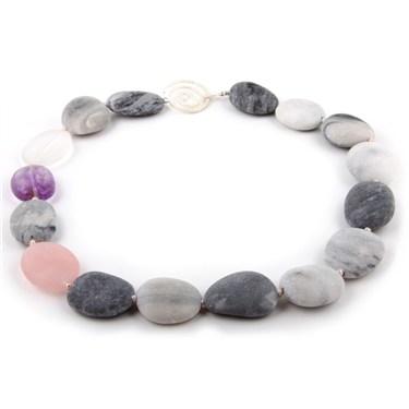 Argento Pebble Necklace