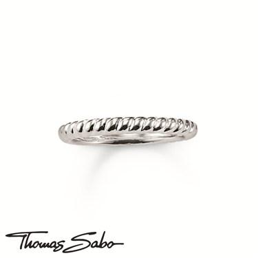 Thomas Sabo Silver Twist Ring  - Click to view larger image