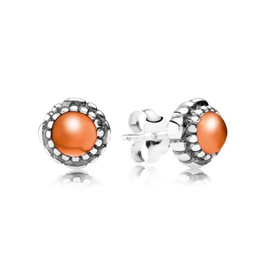 Pandora July Birthstone Studs