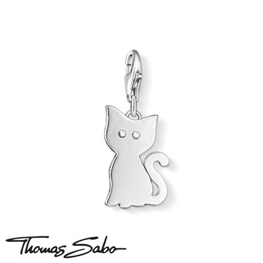 Thomas Sabo Cat Eyes Charm  - Click to view larger image