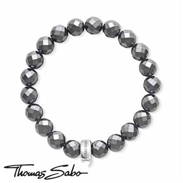 Thomas Sabo Hematite Charm Carrier Bracelet