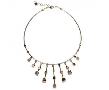 Coeur De Lion Limited Edition Elegance Cube Necklace