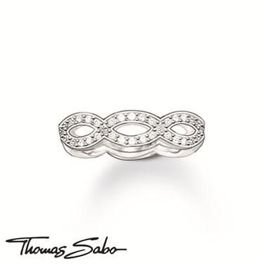 Thomas Sabo Silver Knot Ring  - Click to view larger image