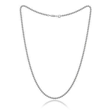 Thomas Sabo Ball Chain Charm Necklace 53cm  - Click to view larger image