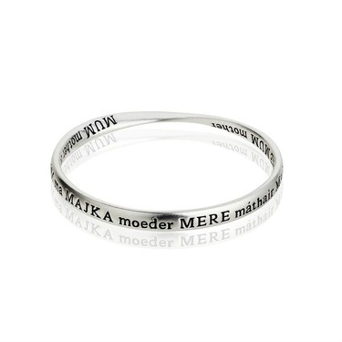 August Woods Mother/Mum Bangle  - Click to view larger image