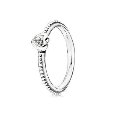 Pandora Clear One Love Ring
