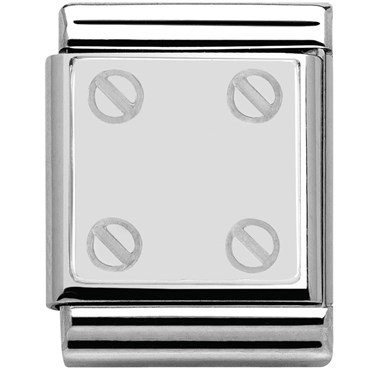 Nomination BIG Screw Plaque Charm  - Click to view larger image