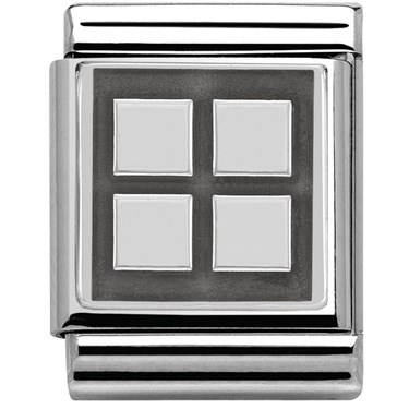 Nomination BIG Four Squares Charm  - Click to view larger image