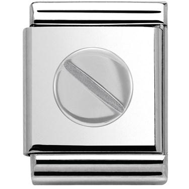 Nomination BIG Screw Symbols Charm  - Click to view larger image