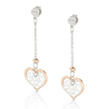 Nomination Long Rose Gold Romantica Earrings  - Click to view larger image