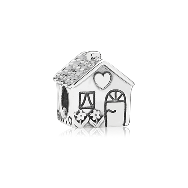 Pandora Home Sweet Home Charm  - Click to view larger image