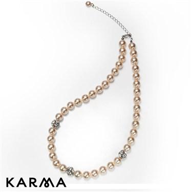 Karma Faux Pearl