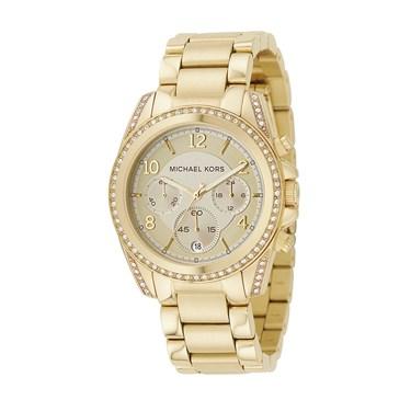 Michael Kors Gold Blair Chronograph Watch