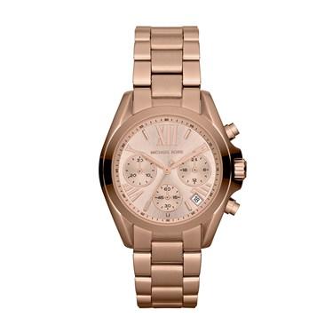 Michael Kors Rose Gold Mini Bradshaw Watch