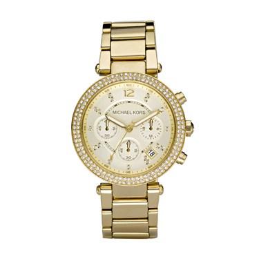 Michael Kors Parker Gold Chronograph Watch