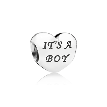 Pandora Baby Boy Charm  - Click to view larger image