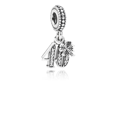 Pandora 40 Pendant Charm  - Click to view larger image