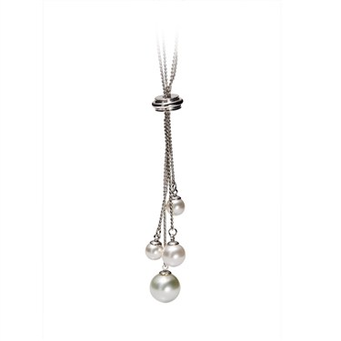 Karma Pearl Pendant Necklace