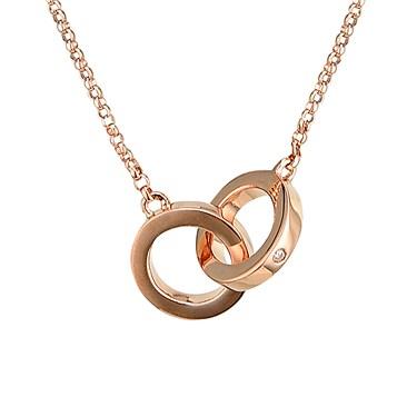 Argento Rose Gold Link Necklace