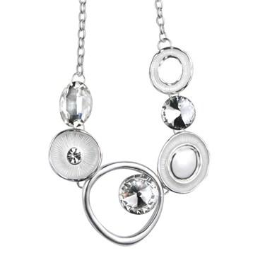 Karma Necklace With Enamel Discs
