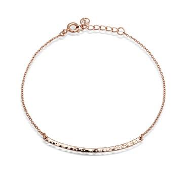 Argento Rose Gold Bar Bracelet