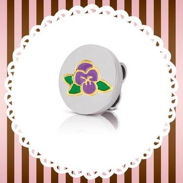Nomination My Bon Bons Purple Violet Charm  - Click to view larger image
