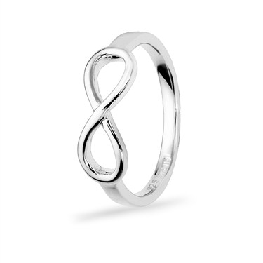 Argento Silver Infinity Ring  - Click to view larger image