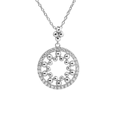 Argento Mandala Necklace  - Click to view larger image