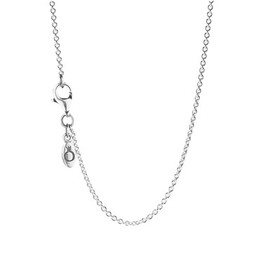 Pandora 90cm silver necklace  - Click to view larger image
