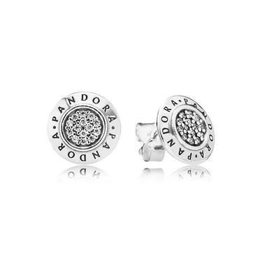 Pandora Signature Stud Earrings Click To View Larger Image