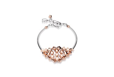 Coeur De Lion Gold Crystal Bracelet