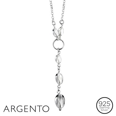 Argento Silver Twist Necklace