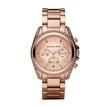 Michael Kors Blair Rose Gold Ladies Watch