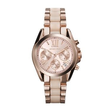 Michael Kors Bradshaw Rose Gold Chrono Watch