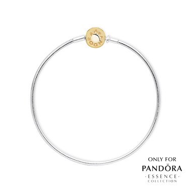 Pandora ESSENCE 14ct Gold Clasp Bracelet