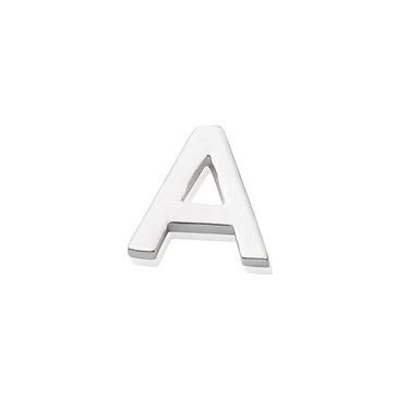 Storie Silver Letter A Charm  - Click to view larger image